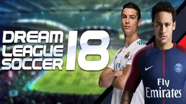 تحميل لعبة كرة القدم dream league 2018