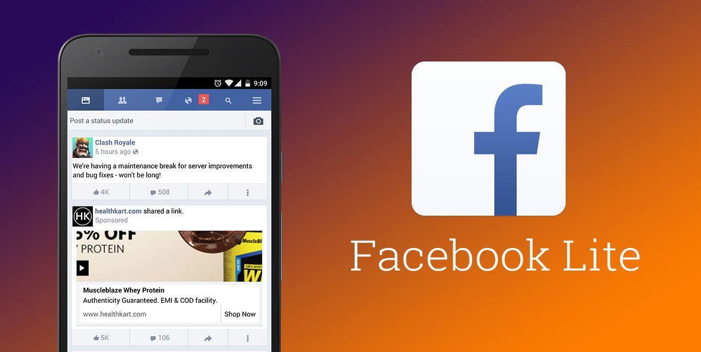تنزيل برنامج فيسبوك لايت 2019 برابط مباشر Facebook Lite مجاني