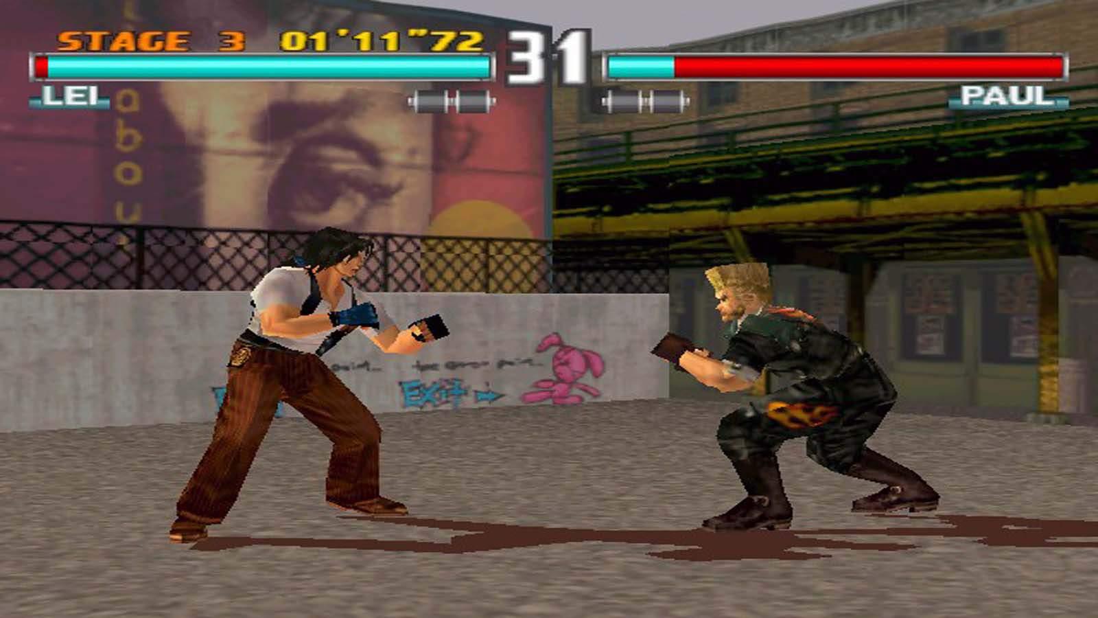 تنزيل لعبة تيكن 3 للكمبيوتر لعبة الأكشن Tekken 3 كاملة برابط مباشر من ميديا فاير Tekken-3-Full-PC-Gam