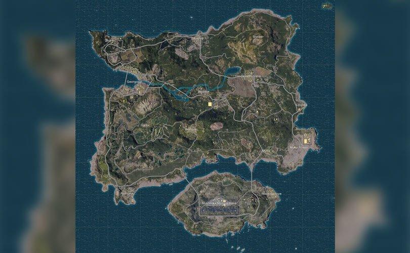 خريطة ايرانجيل (Erangel)