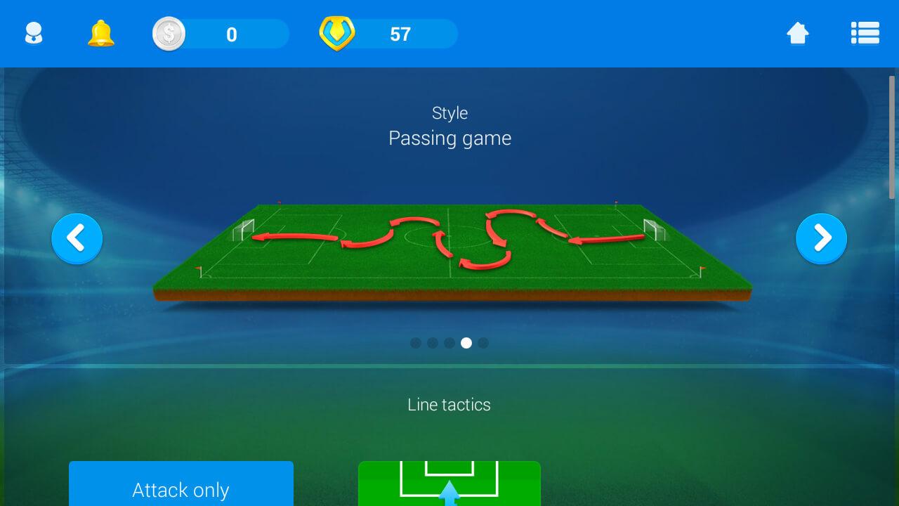 المدرب الافضل المدرب الافضل لعبة تدريب كرة القدم العربي