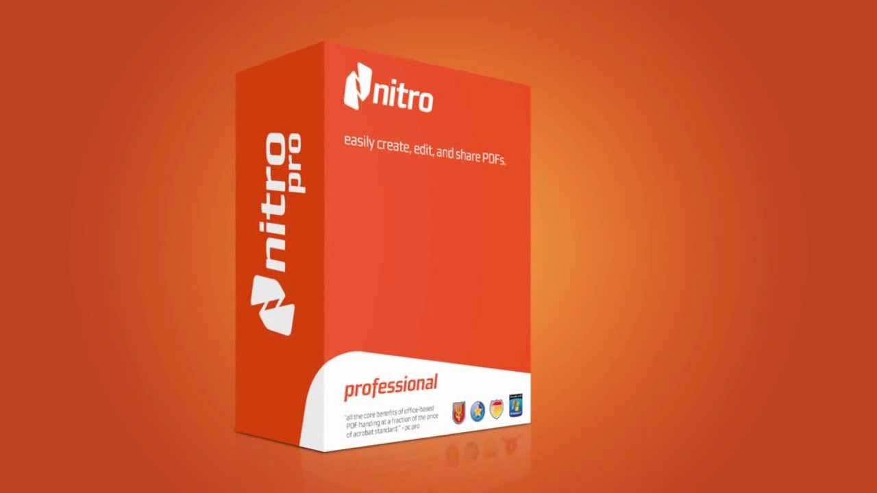 تحميل برنامج nitro pro