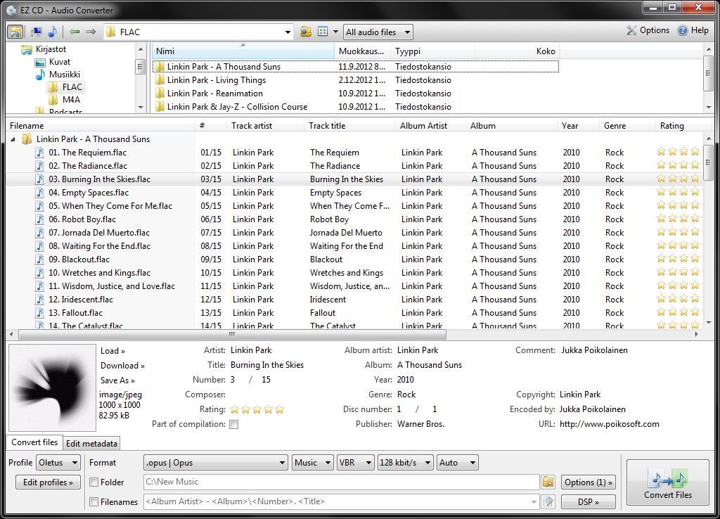 تنزيل برنامج EZ CD Audio Converter إي زد سي دي اوديو كونفيرتور برابط مباشر EZ-CD-Audio-Converte