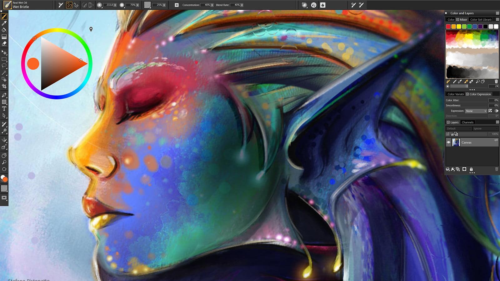 تحميل Corel Painter برنامج الرسم الرقمي والتصميم على الكمبيوتر