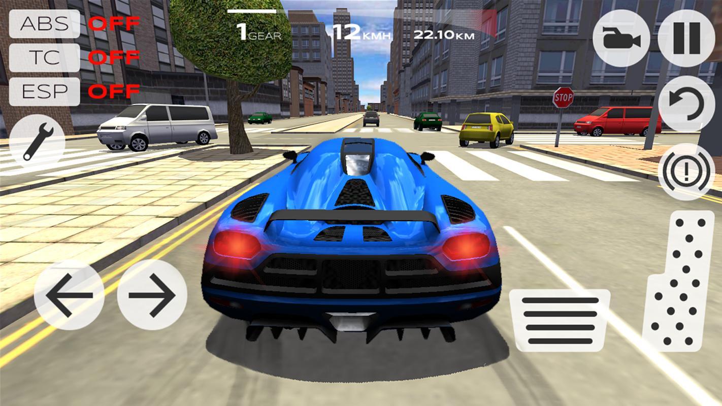 تحميل لعبة محاكي قيادة السيارات