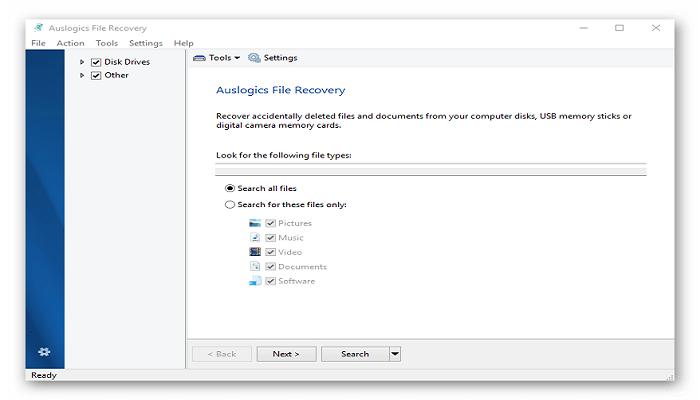 تنزيل Auslogics File Recovery برنامج Auslogics-File-Recov