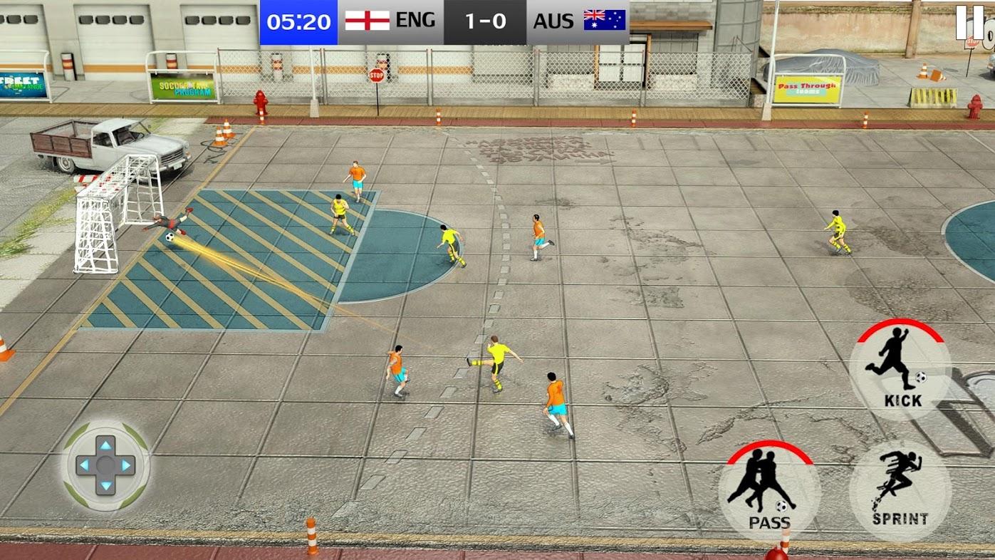 تحميل Street Soccer League 2019 لعبة كرة قدم الشوارع للمحمول برابط
