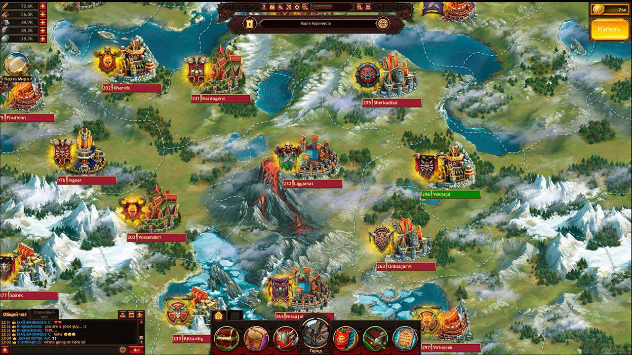 فايكنج وور اوف كلانس Vikings War of Clans