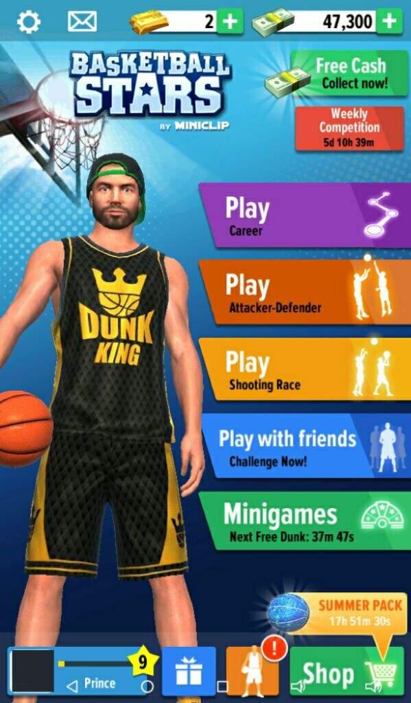 تحميل لعبة basketball stars للكمبيوتر